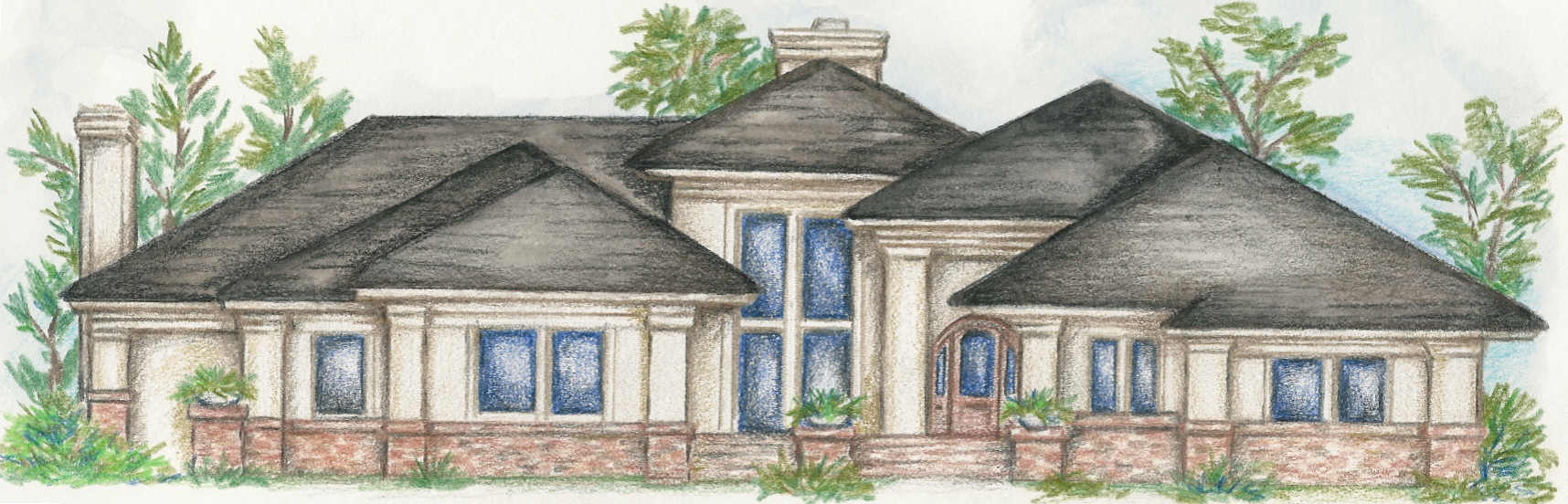 One Story Custom Homes Plans Unique House Plans